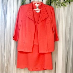 Sag Harbor 3pc skirt suit NWOT